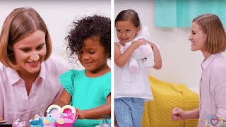 4 Creative Ways to Keep your House Clean! | Kids Cleaning and Toy Hacks by Blossom