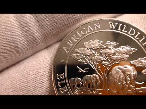 2012 Somali Republic African Wildlife 1 Ounce Silver Coin Review