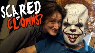 GRANDPA MEETS PENNYWISE! (LMAO)
