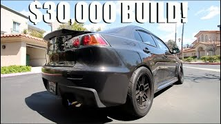 HOW MUCH DID I SPEND ON MY 850HP EVO BUILD?!