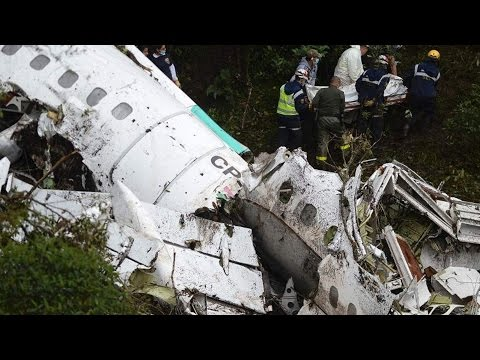 Brazil's Chapecoense Soccer Team's Plane Crashes In Colombia