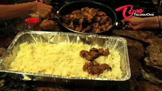 Hyderabad Biryani - Telugu Ruchi - How to make Chicken Biryani with Easy Steps ?