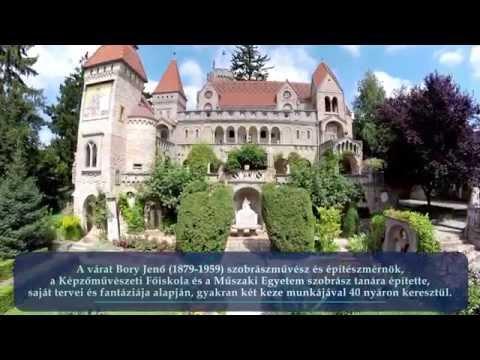 Bory-vár Székesfehérvár - Drone Video Hungary (Bory Castle)