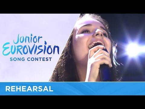 Sofia Rol - Planet Craves For Love (Ukraine) Rehearsal Junior Eurovision 2016