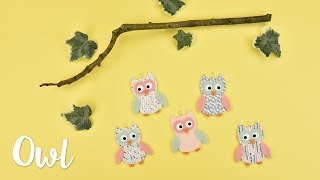 How to Make an Owl Hanging Decoration - Sizzix Lifestyle