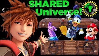 Game Theory: All Games are CONNECTED! | How Fortnite, Doom, and Kingdom Hearts Share a Universe