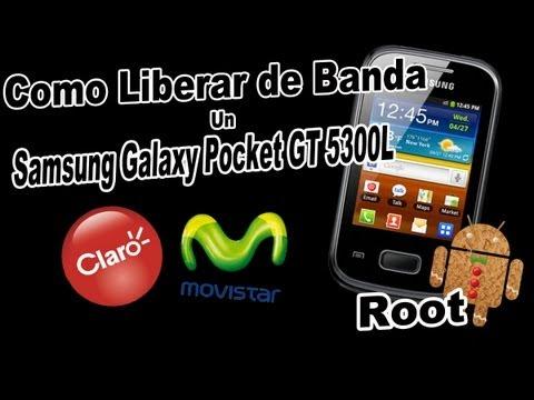 Como Liberar de Banda un Samsung Galaxy Pocket GT 5300L (ROOT)