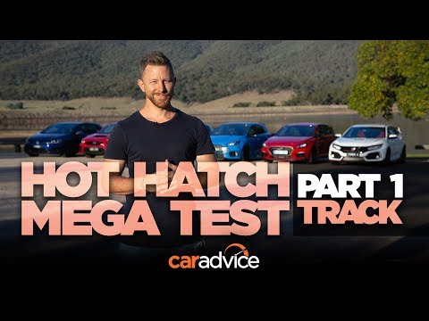 2018 Hot Hatch Mega Test. Part 1: Track & Performance