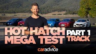 2018 Hot Hatch Mega Test, Part 1: Track & Performance