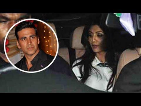 Shilpa Shetty attends ex boyfriend Akshay Kumar's Entertainment SPECIALscreening