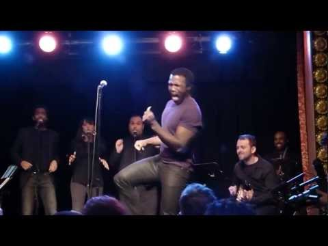 Joshua Henry demonstrates how to fake performing soul music