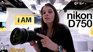 Nikon D750 preview Photokina Videorama