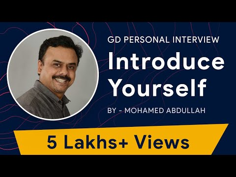 How to Introduce Yourself - Mohamed Abdullah