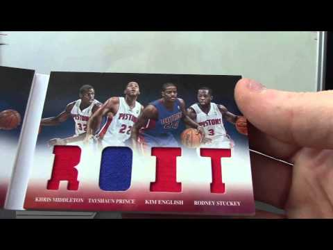 John's 2012/13 Preferred Basketball 2 Box Break
