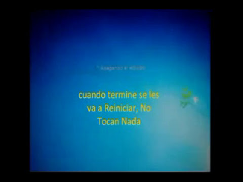 Instalar Sistema Operativo Windows 7