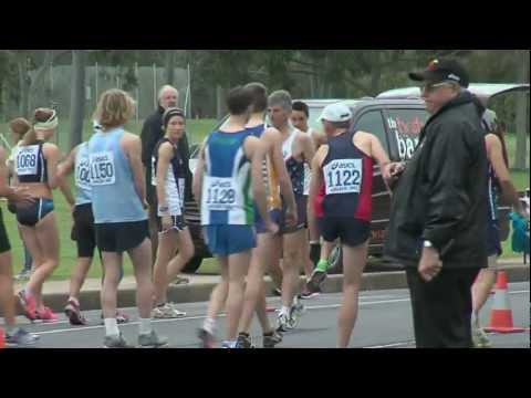2012 Aust Walk Champs. Open Men & Women 20km