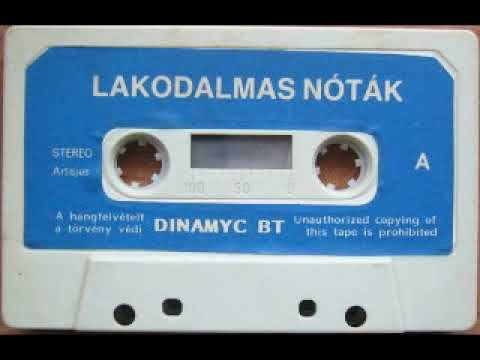 Piknik Együttes – Lakodalmas Nóták Jooker Kft. – JK 010 1990 Kazetta Flac Audió