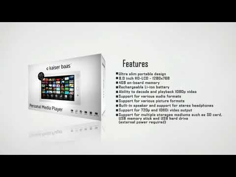 kaiser baas personal media player presentation 1024x576 FLV