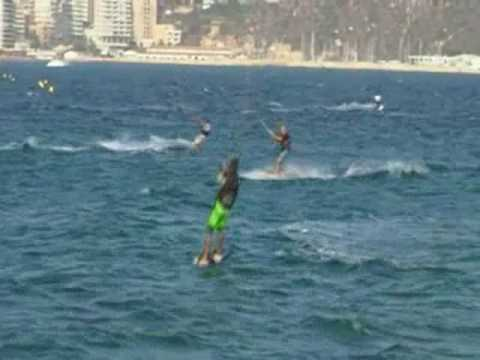 Kitesurf calpe peon ifach 2009