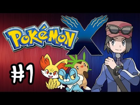 Pokemon X and Y - Gameplay Walkthrough - Part 1 Intro (Nintendo 3DS)
