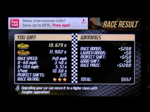 Android Drag Racing Level 2 Honda S2000 1/4 Mile With Tuning | How To