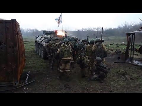 Russian Mercenaries' Exercise In Luhansk Oblast Of Ukraine