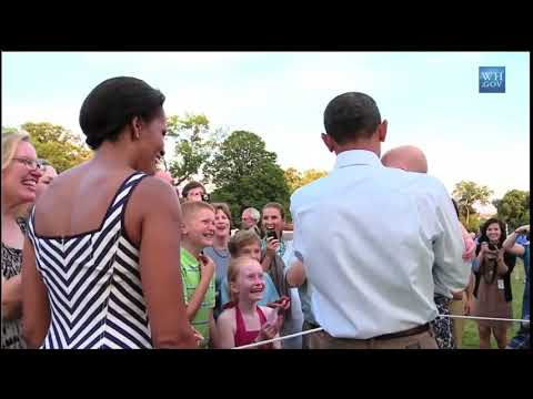 Obama Makes Baby Stop Crying