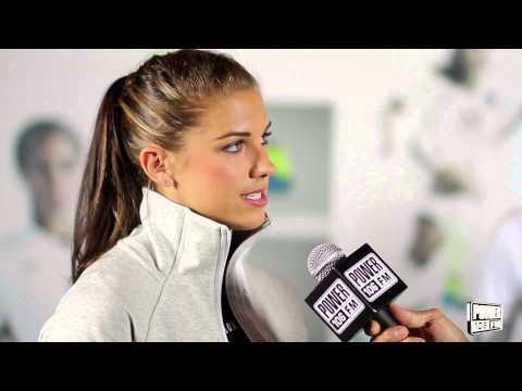 Alex Morgan talks World Cup, Massages, RnB