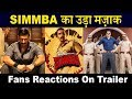 OMG! SIMMBA Trailer Gets Worst Reactions & Fans Disappointed | Ranveer Singh |Sara Ali Khan