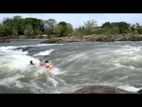 KelloggShowKids Party Surf on Good Wave in Columbus at 13,000 CFS!