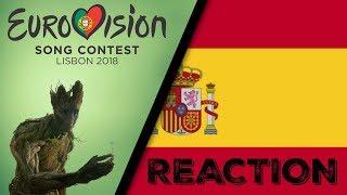 ESC 2018 | SPAIN - Amaia y Alfred - Tu Canción (Reaction & Review)