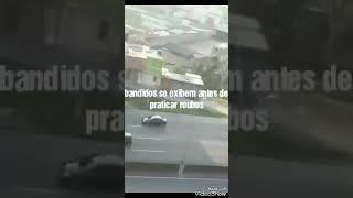 Assalto de motos na Fernão Dias