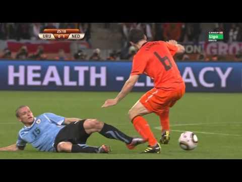 Mundial 2010 Sudafrica Semifinal - Uruguay Vs. Holanda