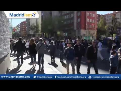 Outside the Bernabeu 45 minutes to match time, Real Madrid vs Granada