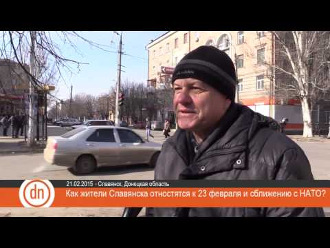 Attitude of Slavyansk citizens to February 23 and getting close with NATO | Eng  Subs
