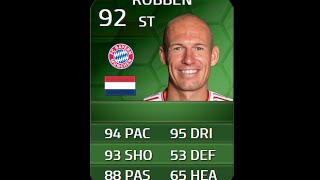 FIFA 14 SiMOTM ROBBEN 92 Player Review & In Game Stats Ultimate Team