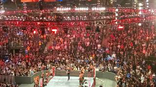 Monday Night Raw at MSG 9/9/19 - Stone Cold Steve Austin (Off The Air)