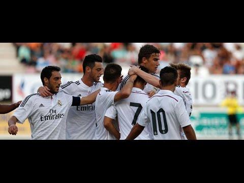 Resumen Zamora 0-4 Castilla