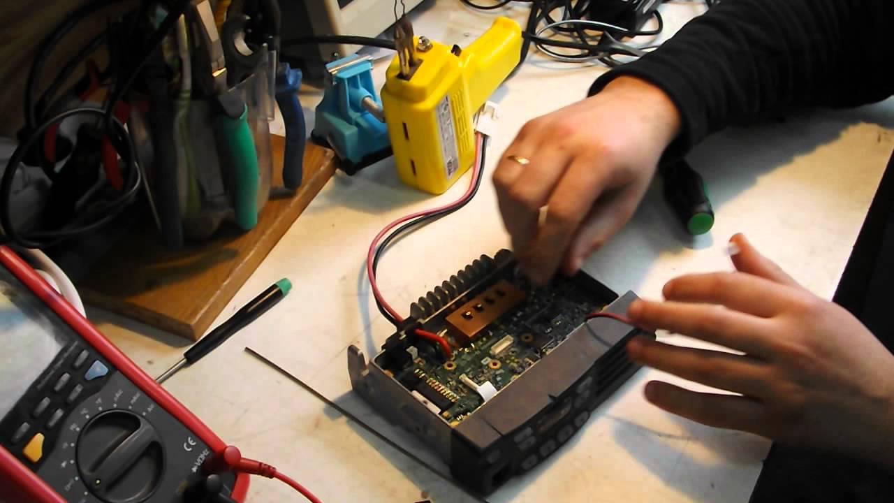Ремонт радиостанции своими руками