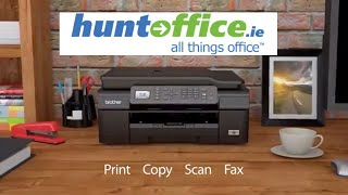 Brother MFC-J470DW Colour Multifunction Inkjet Printer Duplex WiFi A4 at HuntOffice.ie