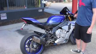 2016 R1 Akrapovic Exhaust+Link Pipe