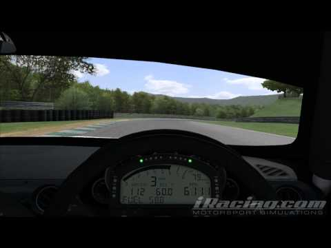 iRacing - MX5 Roadster - 59.004s Hotlap - @ Lime Rock Park