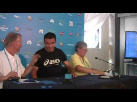 Marinko Matosevic Press Conference: Apia International Sydney 2013