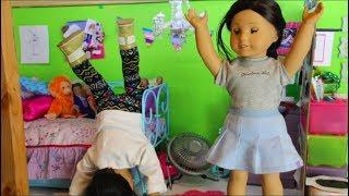 The Big Deal Sleepover- American Girl Stopmotion (FEAT. 4HAPPYHIPPOS)