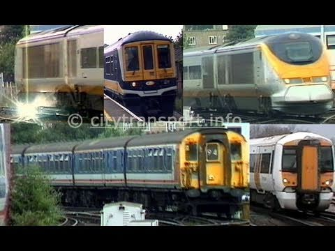 Trains at Herne Hill station in south London, filmed in summer 1999 and April 2011. The film includes many types of train, including Eurostars which tarvelle...