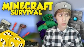 ''WAT IS DAT?!'' - Job's Minecraft Survival! #2