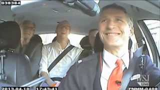 Norway's Prime Minister Turns Taxi Driver | Jens Stoltenberg Drives A Cab