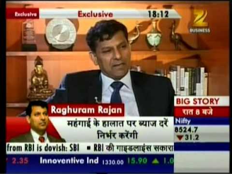 Dr. Raghuram Rajan Speaks Exclusively to Mihir Bhatt - Zee Business 02/12/14