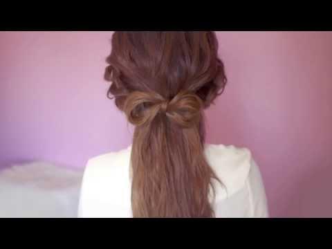 Cute and Lovely Hair Bow Tutorial - Aranyos és szép haj készítése
