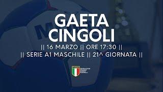 Serie A1M [21^]: Gaeta - Cingoli 31-24
